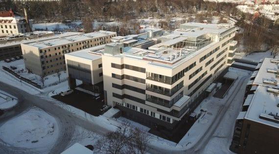 Lovisenberg Diakonale sykehus – bygg for psykisk helsevern