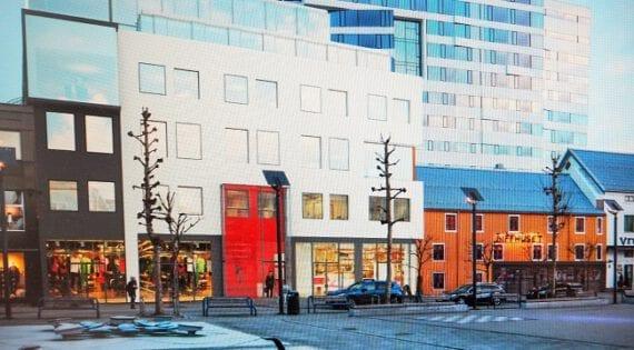 Pellerinbygget, Strandtorget Tromsø