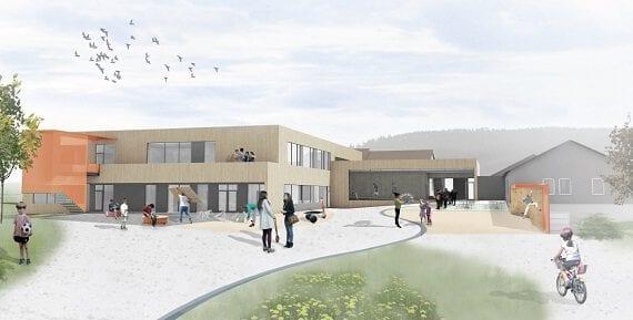 Mælan barne- og ungdomsskole, Sørfjorden