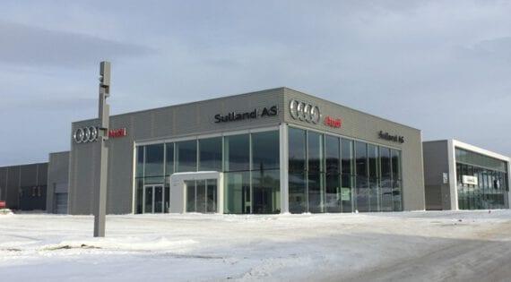 Sulland Tromsø, nybygg for Audi og Volkswagen