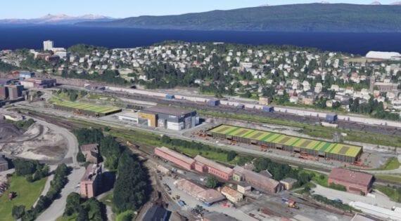 Malmporten handelspark og Extra Bygg, Narvik