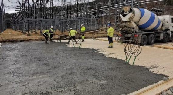 Sylling transformatorstasjon, Lier kommune