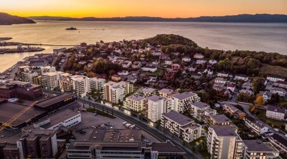 Øvre Nyhavna, Trondheim
