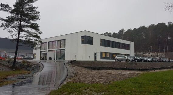 Kirkebygg i Grimstad